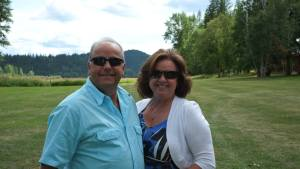 Terry & Ruth Davies - taken at the Bull River Guest Ranch in Cranbrook BC